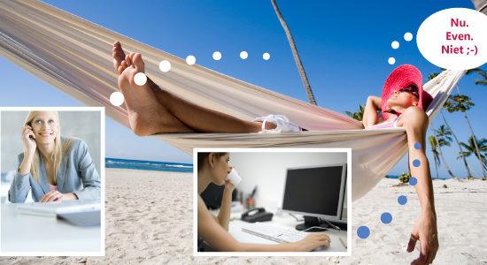Ondernemers en vakantie